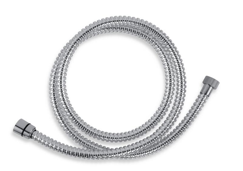 Sprchová hadice plastová 150 cm chrom